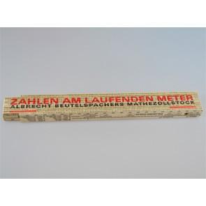 Mathe-Zollstock