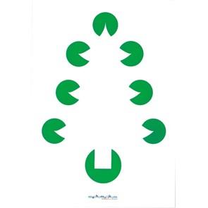 Postkarte - Der Tannenbaum