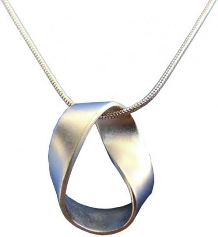 Halskette Möbiusband
